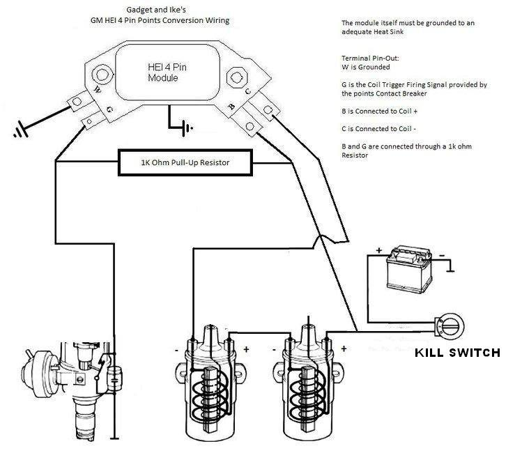 The New And Improved Unofficial R65 Forum - using GM Delco ignition Hall Effect Sensor Bwd Wiring Diagram on