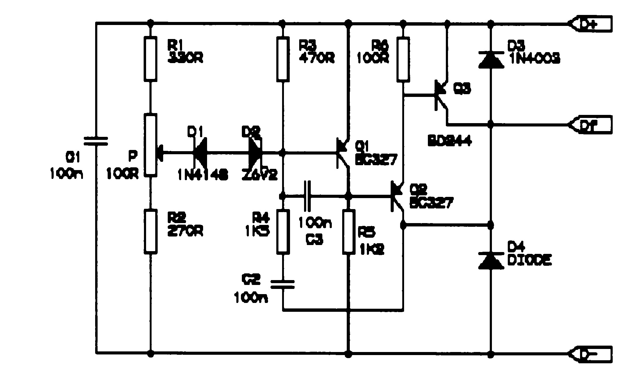 Electronic Voltage Regulator Schematic Great Installation Of Circuit Diagram 7805 Images Gallery