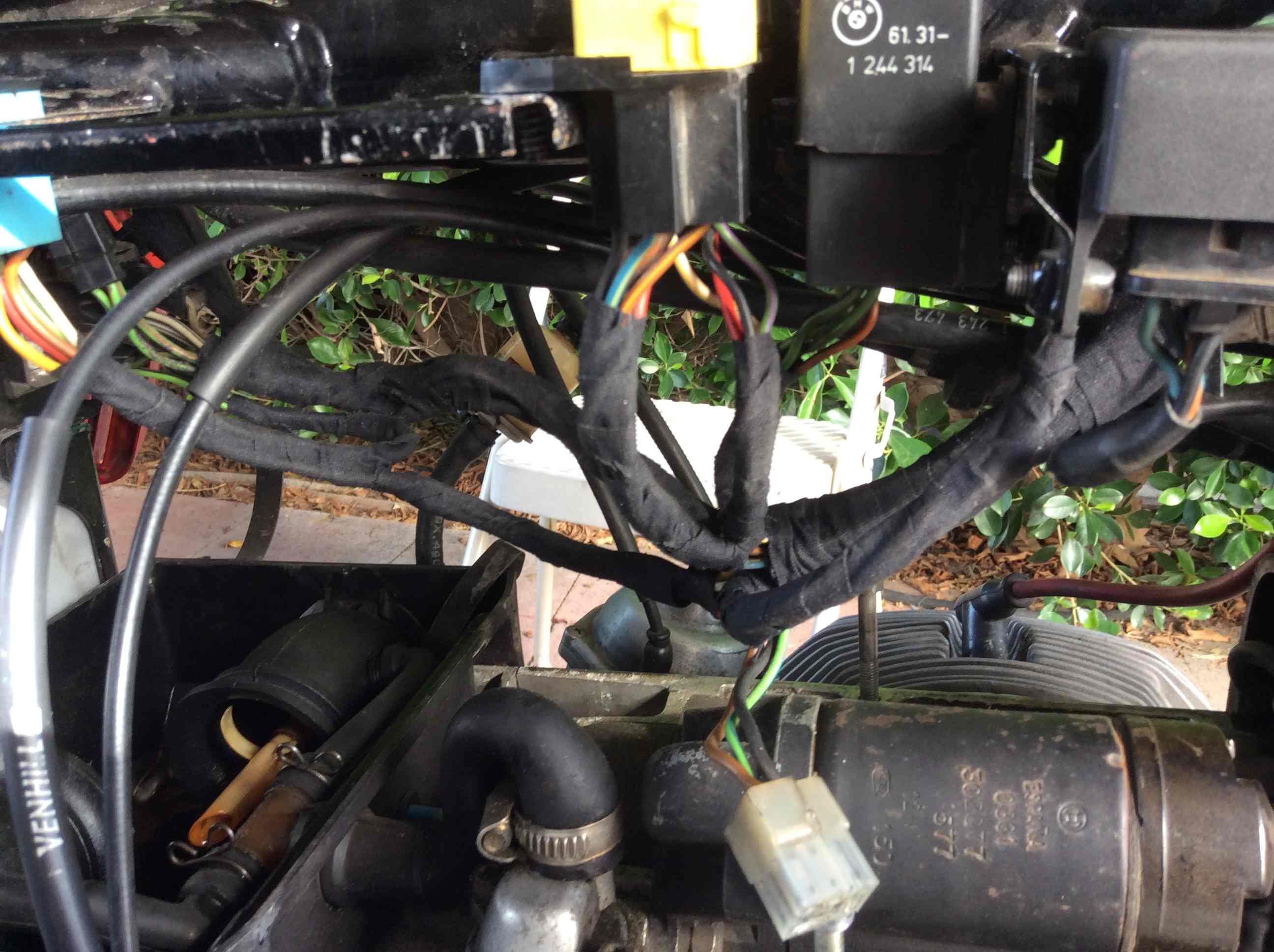 The New And Improved Unofficial R65 Forum 82 R65ls Ignition Session Bmw Motorcycle Wiring Harness Tape A 3m Cloth