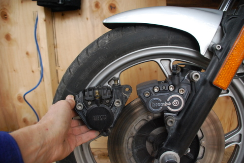 The New And Improved Unofficial R65 Forum - Four piston Brembo