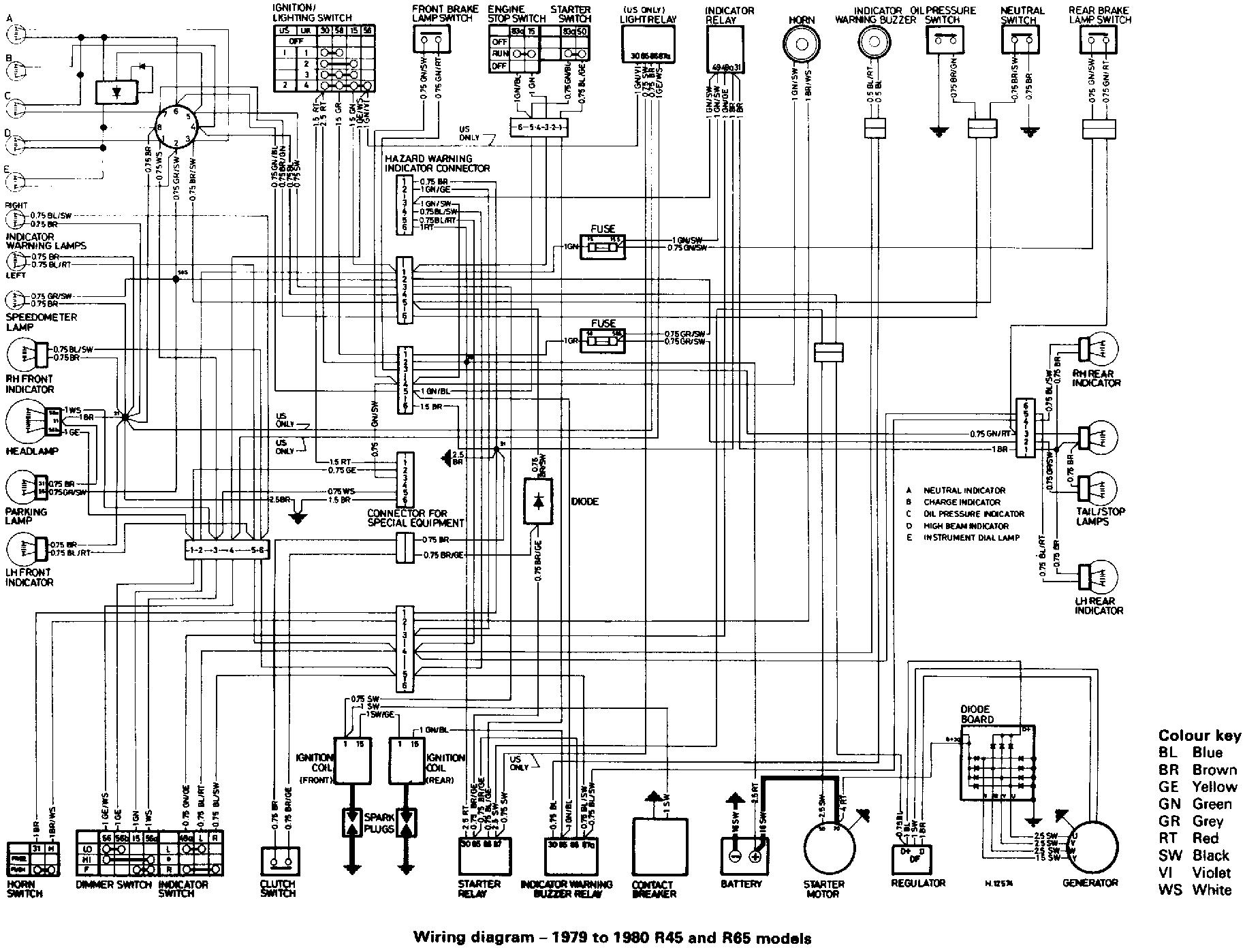 1980 bmw r65 wiring diagram